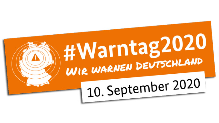 Warntag am 10. September 2020 in Deutschland